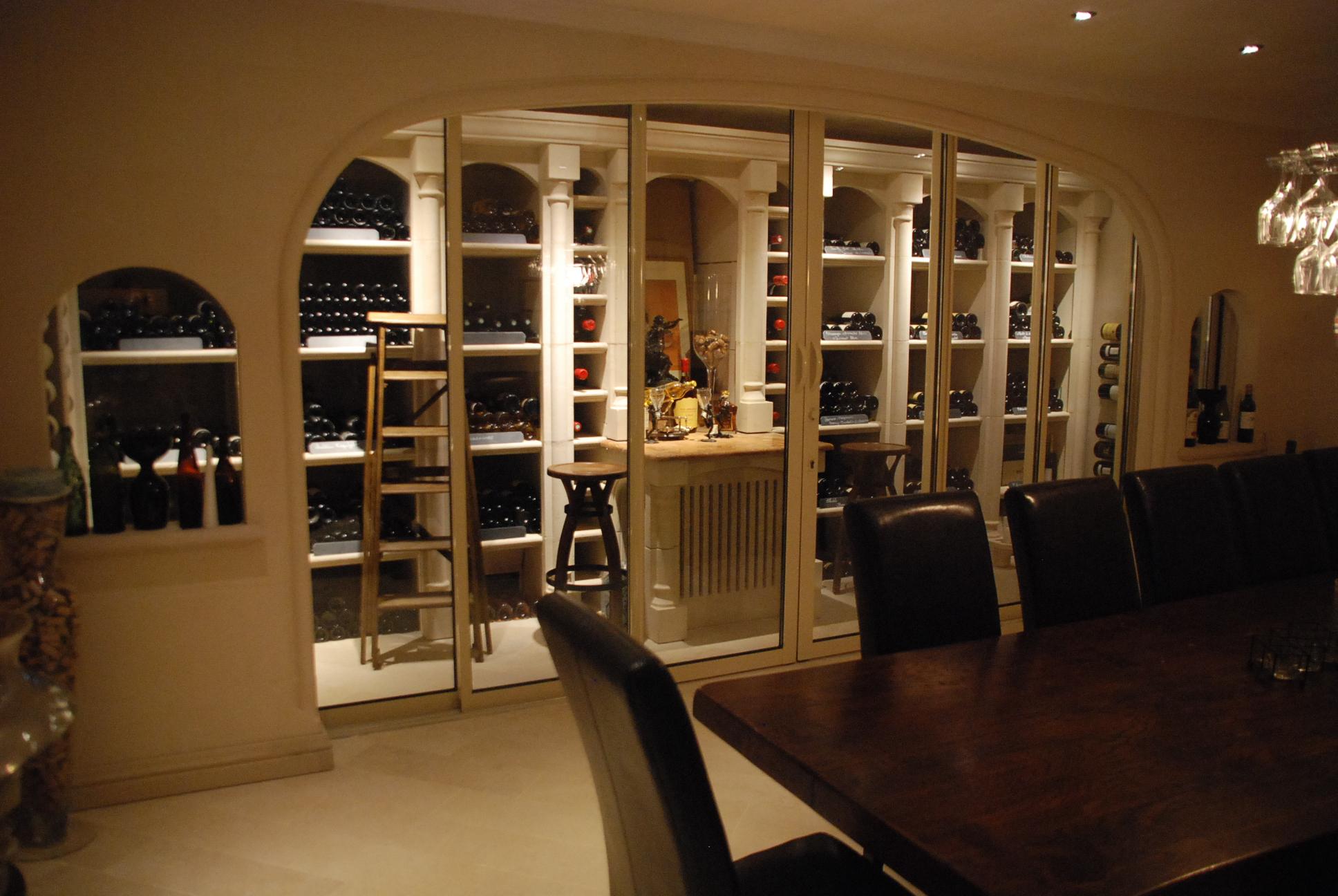 Cave a vin pour une gestion des bouteilles de votre cave - Quelle temperature pour une cave a vin electrique ...